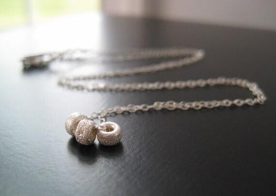 Emeline Necklace - Sterling Silver