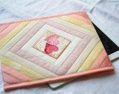 Lovely hearts iPad sleeve, iPad cover, iPad 2 case
