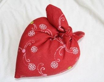 The heart pincushion