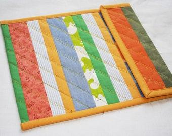 Patchwork Strips iPad sleeve, iPad 2 case, iPad 2 Cover