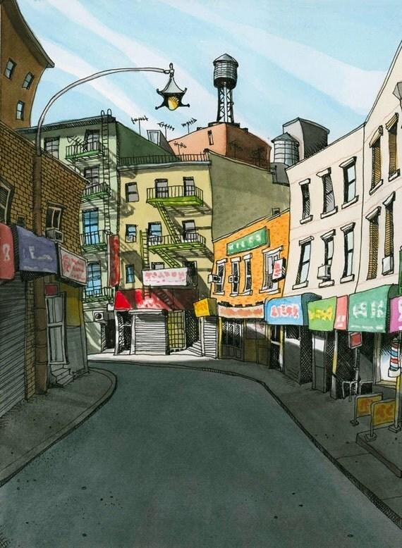 Doyers Srteet, Chinatown