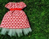 Apple Party Dress- 4 in 1 Dress