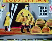 lobsterman, vintage children's book