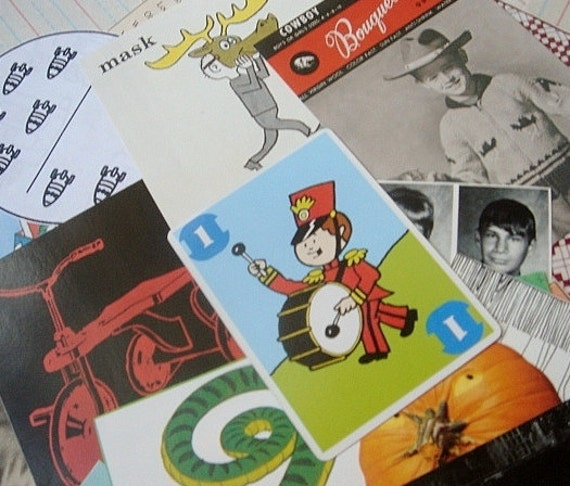 pure boy:  lot of paper ephemera, 100 images for use in your art projects