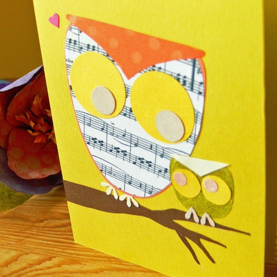 LoveSong - set of 5 note cards