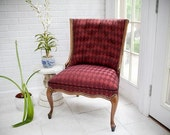 SALE - Harlequin Slipper Chair