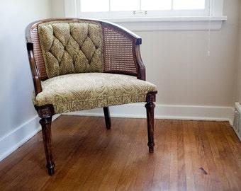 Fern Tufted Club Chair