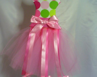 Tutu Hair Bow Holder-Bow Holder-Hair Bow Holder-Barrette Holder-ballerina bow holder-ballet hair bow holder