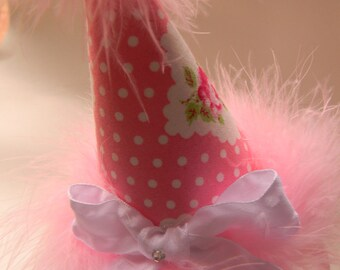 Head Band Birthday Party Hats -First Birthday Party Hats- Children and adults