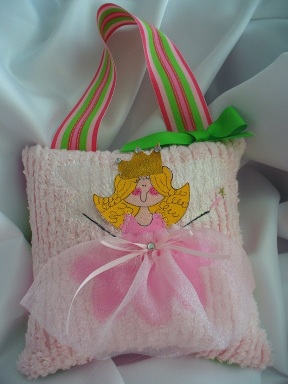Girls Tooth Fairy Pillow-free personalization