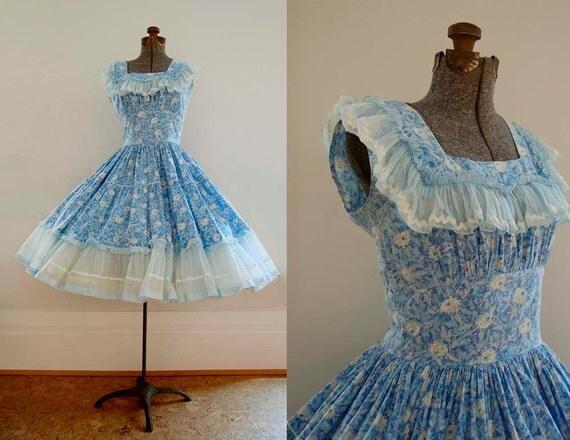 V I  N T A G E 1950's Olivia Rockabilly dress