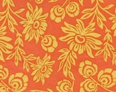 CLEARANCE, Joel Dewberry, Modern Meadow, Hand Picked Daisies in Sunset, 1  Yard