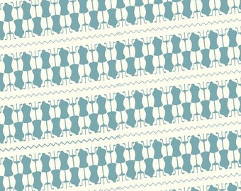 CLEARANCE, Cosmo Cricket, Tailor Made, Dressform in Turquoise, 1 Yard