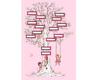 Last one, SARAH JANE, Michael Miller, Children at Play, Family Tree Panel