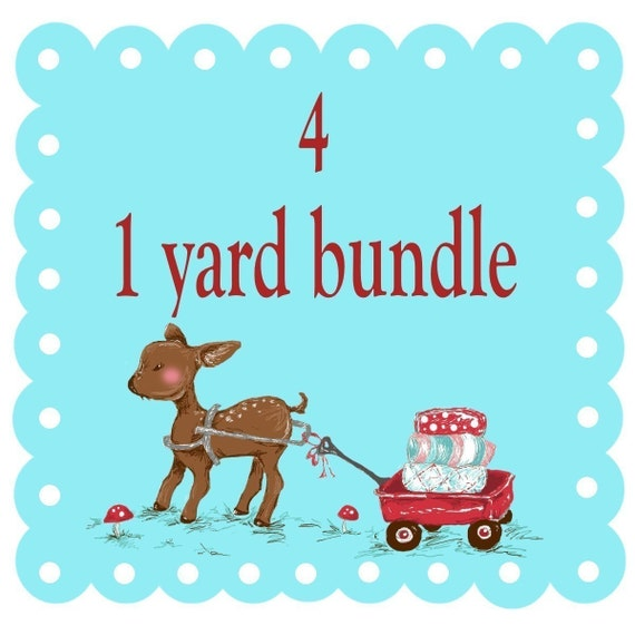 Create Your Own Bundle - 4 Yard Set - You Choose
