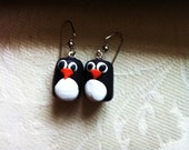 Chilly Penguin Earrings