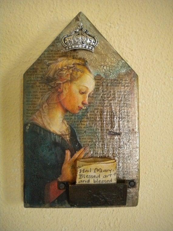 Prayer Shrine-Hail Mary