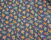 REDUCED ------- Vintage Fabric ----- Sitting By The Lake ------ One Half Yard