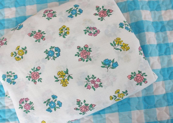 REDUCED ------ So So Lovely Vintage Sheet