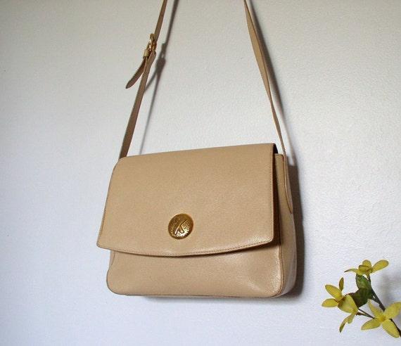 Paloma Picasso Handbag Coffee with Cream Shoulder Bag