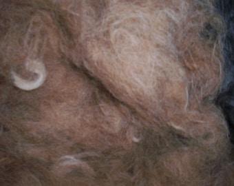 Alpaca cloud fiber, 1/2 pound coarse grade
