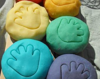 Aromatherapy  Kiwi Lime scented Play Dough 8oz