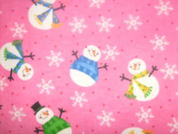 Christmas Holiday Warm Flannel Crib Sheets