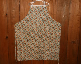 Apron, Chickens, reversible