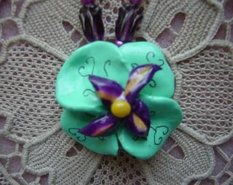 Turquoise Pinwheel