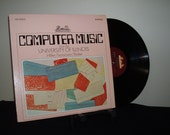 Computer Music From The University Of Illinois, 1967, Lejaren Hiller/ Leonard Isaacson / Robert Baker, Heliodor HS 25053