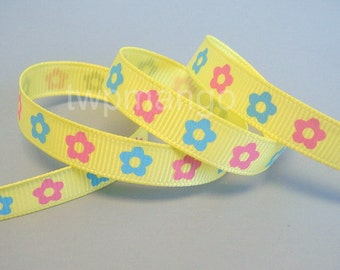 5 yards 3/8 inch Grosgrain Ribbon... Craft... Hair Bow... R28