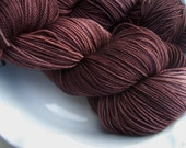 Coffee Tea or Me-- Twinkle Toes -- Hand Painted Superwash Merino Wool Sock Yarn