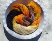 Fire Eater -- Posh Socks -- Hand Painted Cashmere/Merino/Nylon Sock Yarn