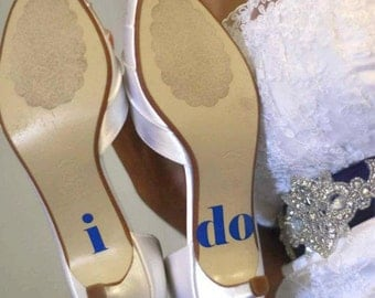 I do Shoe Me, too Decals for Beach Weddings