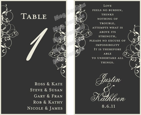 Wine Bottle Label Table Numbers for Weddings and Engagements OOT gifts Customizable