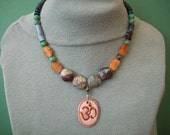 The Old-Chinese Turquoise, and the Ancient-the Symbol for the Cosmic Vibration-OM