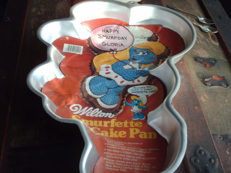 Wilton Smurfette Cake Pan On Sale
