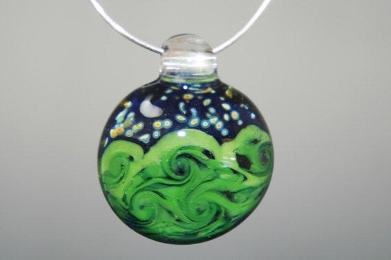 Glass Pendant Scene Pendant Van Gogh