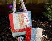 Simple Stitches - Sewing Tote, Needle Book and Thimble Pip - pdf e-Pattern