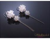 Dangling swarovski crystal earrings (WJ049)