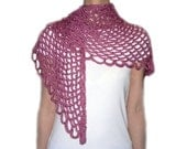 Angel Lace Scarf - PDF Crochet Pattern - Instant Download