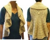 Circular Vest (9 Sizes) - PDF Crochet Pattern - Instant Download
