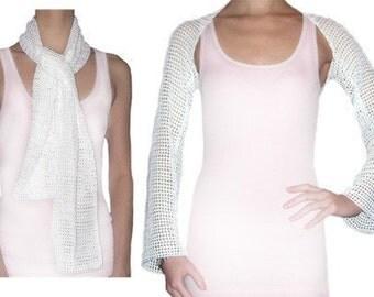Convertible Lace Shrug - PDF Crochet Pattern - Instant Download