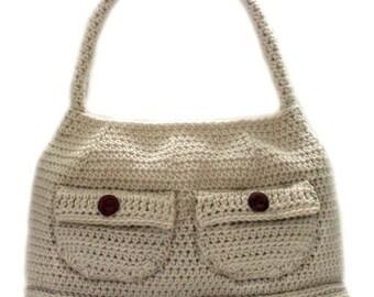 Working Girl Shoulder Bag - PDF Crochet Pattern - Instant Download