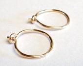 Hoop Earrings Small 14K Gold Filled Hoop Earrings 14K Gold Filled Hoops Gold Hoops Etsy Jewelry