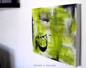 Losing Ground // Acrylic Painting // Original Artwork