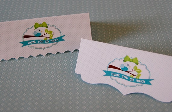 """50 Larger Bag Toppers - for a 5""""-5.25"""" sack - completely custom design using your logo or party theme or ideas"""