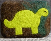 Dino-mite - Felted Soap (unscented) - FREE SHIPPING