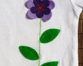 Violets Are Blue - Infant\/Toddler Onesie (6m, 12m, 18m, 24m) - FREE SHIPPING