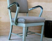On hold-reserved Mid-Century Office Chair MFG. by A.S.E.